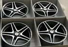 19 Mercedes Benz C63 C63s C63 Coupe AMG WHEELS RIMS Factory OEM Original W205