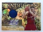 2010-11 Panini Gold Standard BLAKE GRIFFIN Gold Nuggets Auto Jersey #d 4 5