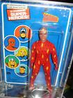 MEGO HUMAN TORCH 1979 PIN PIN french all original MOC W Acrylic display case