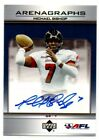 2006 Upper Deck Arena Football Arenagraphs #AG-MB Michael Bishop Auto Card Pats