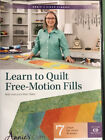 Learn To Quilt Free Motion Fills Class DVD Annies Video Classes DVD