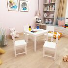 Wooden Kids Table and Chairs Set Solid Hard Wood Sturdy Child Table