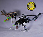 Display Stands for Lego 7786 Batcopter Lego are not included 2 stands only