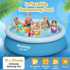 78x20 Large Family Swimming Pool Garden Outdoor Summer Inflatable Kids Water