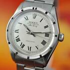 AUTHENTIC 1960's GENTS ROLEX OYSTER AIR KING PRECISION 1002 5500 AUTOMATIC SS
