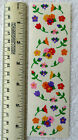 Mrs Grossman FLOWERS MICRO Strip of Colorful Micro Flower Stickers