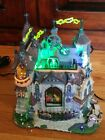 Lemax Spooky Town Village Frankenstein's Laboratory Animated Building #75501