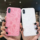MICKEY MINNIE MOUSE PU LEATHER PHONE CASE For IPHONE 11 Pro 7 8 Plus X XS MAX XR