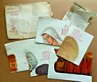 Incredible Complete Set of Vintage XMAS NATIVITY MANGER Douglas Plywood POSTERS