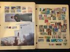 Stamps 50+ album pages mix foreign  US no idea of value low starting bid