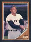 Vintage Willie Mays Baseball Card Timeline: 1951-1974 54