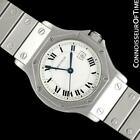 CARTIER SANTOS OCTAGON Mens Unisex SS Steel & 18K Gold Watch, Mint with Warranty