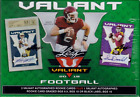 2018 LEAF VALIANT HOBBY FOOTBALL 5 BOX LOT - 4 AUTOS PER BOX INCLUDING 1 GRADED