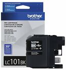Brother LC101BK Black Ink Cartridge Brand New Exp 01 2021 Free Ship