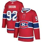 Jonathan Drouin Montreal Canadiens adidas Authentic Player Jersey - Red