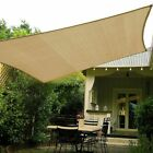 Sun Shade Sail Outdoor Patio Deck Pool Canopy Cover UV Block Rectangle 10 X 13