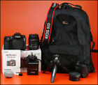 Canon EOS 80D DSLR Camera With 18-55mm Zoom Lens kit with Battery