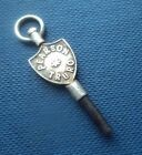 Advertising Pocket Watch Key  -  Pearson of Truro in Cornwall - silver colour