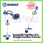 Kobalt 80 volt Max 16 in Straight Cordless String Trimmer Battery Not Included