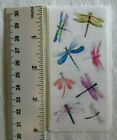 StickyPix DRAGONFLIES 4 Strip of Dragonfly Stickers By Paper House Prod