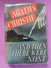 AND THEN THERE WERE NONE FIRST AMERICAN EDITION BY AGATHA CHRISTIE