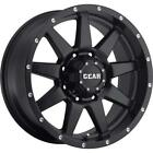 4 17x9 Black Gear Alloy Overdrive 728 6x55 18 Nitto Mud Grappler 33x125R17