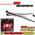 Fit Sportster 1200 Custom XL1200 Rear Side 33cm Integrated LED Turn Brake Light