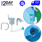 Deluxe Surface Skimmer For Swimming Pool Accessories Cleaning Tools Wall Mount