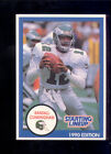 1990 Kenner SLU Starting Line Up RANDALL CUNNINGHAM Philadelphia Eagles Card