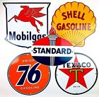 Porcelain Gas Signs Repros Texaco Mobilgas Shell Union 76 Standard Man Cave Gift