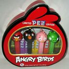 ANGRY BIRDS PEZ LIMITED EDITION GIFT TIN  Includes 4 Angry Birds 6 Pez Candy