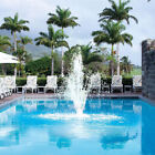 Swimming Pool Fountain Color Changing LED Light Above Ground In Ground Feature