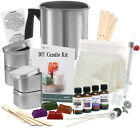 Soy Candle Making Kit DIY Supplies Full Beginners Set Wax Rich Scents Dyes Wicks