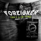 2 CD SET FOREIGNER CAN'T SLOW DOWN WHEN IT'S LIVE BRAND NEW SEALED
