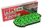 Gilera GSM 50 2002-2003 Green Chain With Spring Link 420-Pitch 124-Links