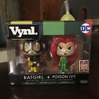 Funko Pop Vynl. Hot Topic Exclusive SDCC Batgirl Poison Ivy 2500 Piece 2-Pack