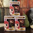 Funko Pop Son Of Zorn Hot Topic Exclusive Office Attire Hot Sauce 3 Figure Set