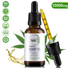 Buy 2 get 1 FREE Organic Hemp Oil Drops Pain Relief Reduce Stress Joint Support