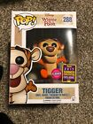 Funko Pop Disney Winnie The Pooh flocked Tigger #288 SDCC Exclusive limited