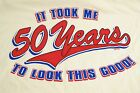 One Of A Kind Anvil 50th birthday funny shirt Size 2XL XXL Must Have Shirt