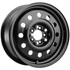 Pacer 84B Mod 15x6 4x100 4x45 +41mm Black Wheel Rim 15 Inch