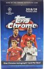 2018 19 Topps UEFA Champions League Chrome Soccer SEALED Hobby Box