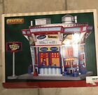 Lemax 25350 ASTRO BURGERS Jukebox Junction Building Christmas Village Decor S R
