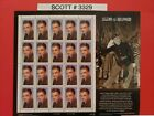 Scott  3329 Legends of Hollywood James Cagney Sheet of 20 33 Cent Stamps