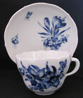 Meissen Cup and Saucer Royal Flute Blue and White