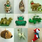 a12 ANIMAL ORNAMENTS each priced separately MANY CHOICES Kangaroo Raccoon Turtle