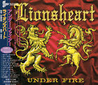 LIONSHEART Under Fire +1 JAPAN CD OBI PCCY-01224 Grim Reaper Tyketto