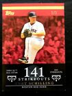 2007 Topps Moments Milestones Red Superfractor Non Auto Curt Schilling 1 1