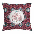 East Urban Home Native American Hipster Tribal Square Pillow Cover