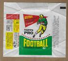 1964 TOPPS FOOTBALL 5 CENT WAX WRAPPER  VERY CLEAN